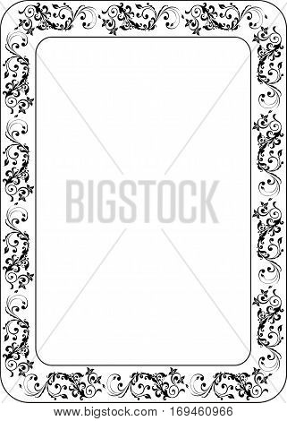 Certificats Frame blank template for a certificate or diploma