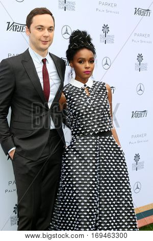 Palm Springs - JAN 3:  Jim Parsons, Janelle Monae at the Variety's Creative Impact Awards and 10 Directors to Watch at the Parker Palm Springs on January 3, 2017 in Palm Springs, CA