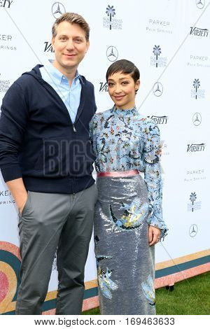Palm Springs - JAN 3:  Jef Nichols, Ruth Negga at the Variety's Creative Impact Awards and 10 Directors to Watch at the Parker Palm Springs on January 3, 2017 in Palm Springs, CA