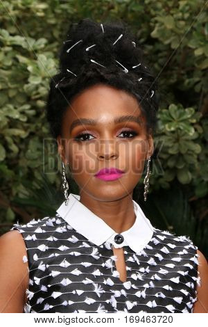 Palm Springs - JAN 3:    Janelle Monae at the Variety's Creative Impact Awards and 10 Directors to Watch at the Parker Palm Springs on January 3, 2017 in Palm Springs, CA