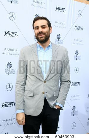 Palm Springs - JAN 3:  Michael Lerman at the Variety's Creative Impact Awards and 10 Directors to Watch at the Parker Palm Springs on January 3, 2017 in Palm Springs, CA
