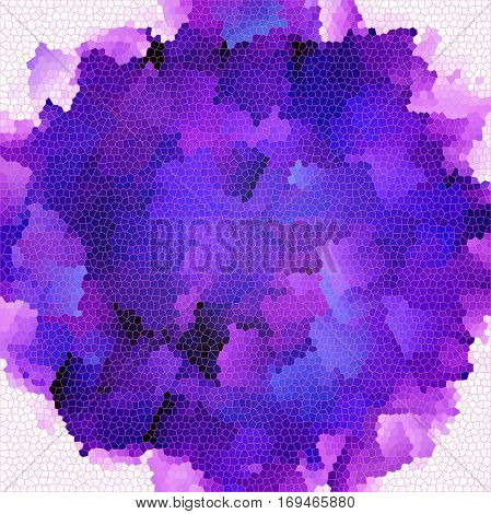 Abstract coloring background of the deep sea gradient with visual pinch,twirl,lighting,cubism,stained glass  and shear effects