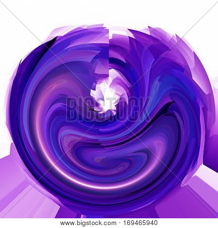 Abstract coloring background of the deep sea gradient with visual pinch,twirl,lighting,cubism,poolar coordinates and shear effects