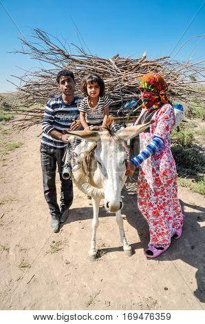 Family In Turkmenistan