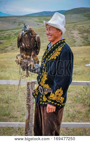 Golden Eagle In Kyrgyzstan