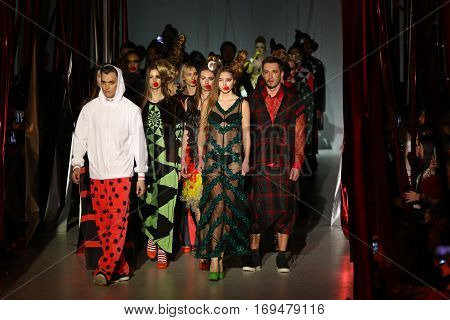 Ukrainian Fashion Week: Collection By Oleksiy Zalevskiy