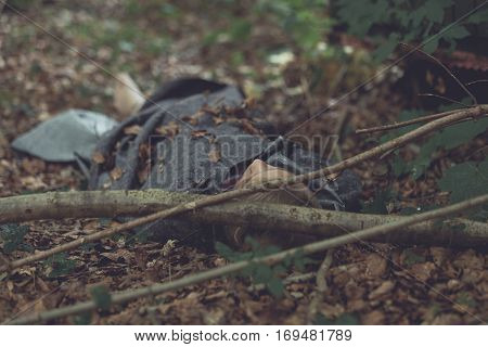 Murder Victim Hidden In Forest