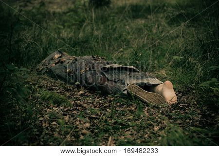 Abandoned Body Of Murder Victim