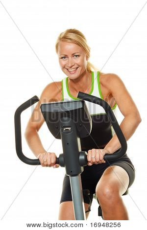 Woman in training for endurance