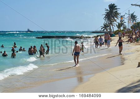 The Beach Of San Andres