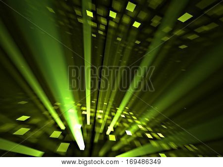 3d perspective grid dance floor with rays background texture