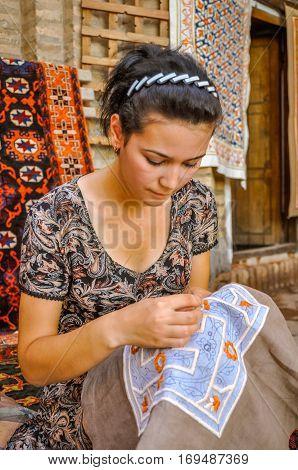 Woman In Uzbekistan