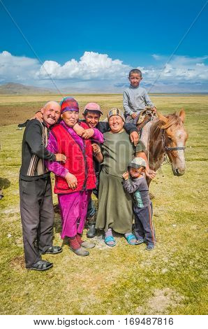 Smiling People  In Kyrgyzstan