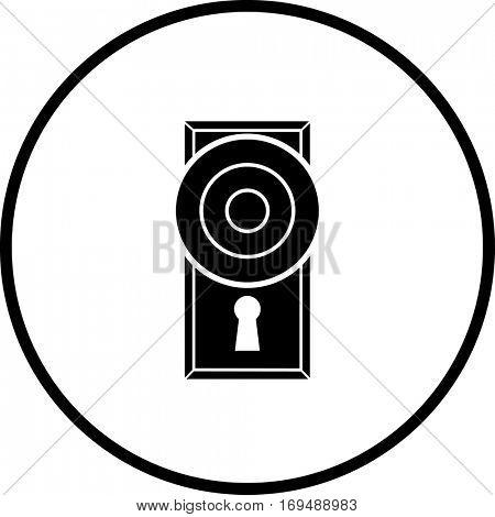 door knob symbol
