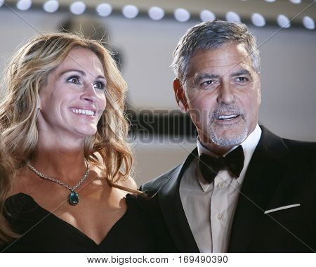 Julia Roberts, George Clooney attend the 'Money Monster' Premiere during the 69th annual Cannes Film Festival on May 12, 2016 in Cannes, France.