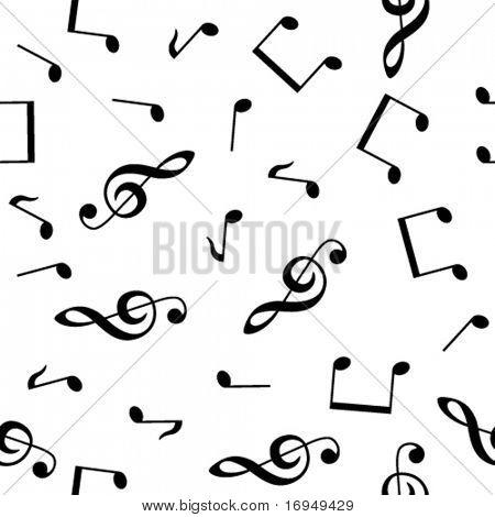 musical seamless wallpaper