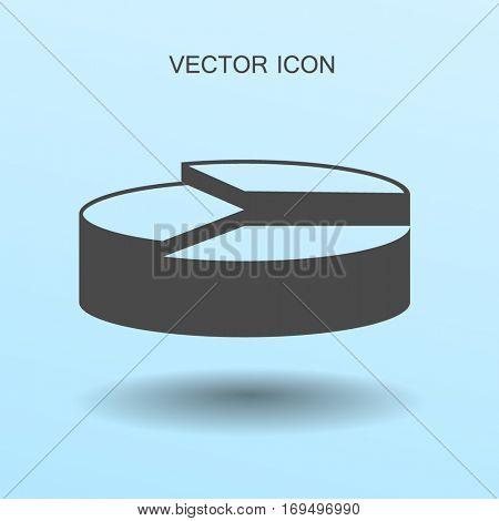 The diagram - a visual aid vector illustration