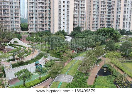 Hong Kong Public Housing at Sau Mau Ping