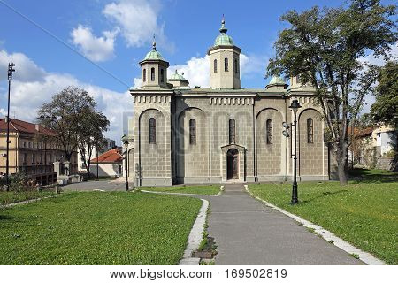 The Ascension Orthodox Church in Belgrade Serbia