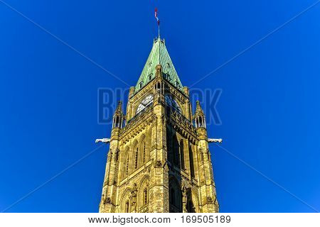 Canadian House Of Parliament - Ottawa, Canada