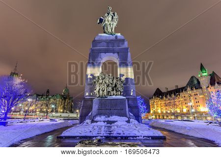 National War Memorial - Ottawa, Canada