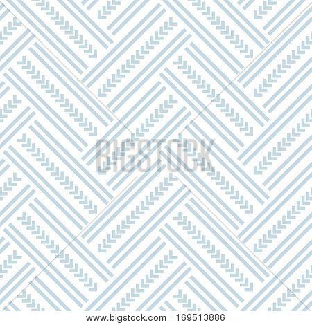 Seamless herringbone pattern. Vector art.