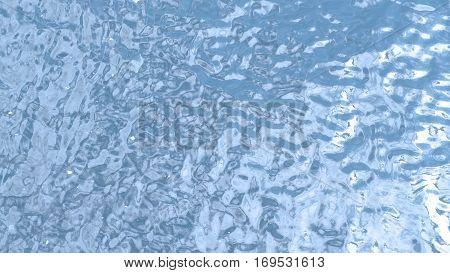Blue Water Waving.