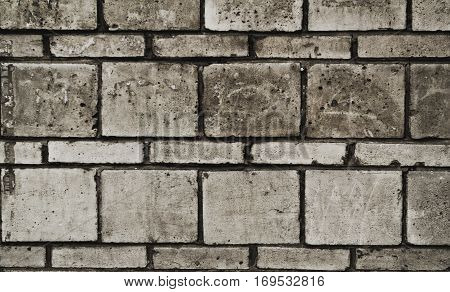 Brick, brick wall texture. Brick wall background. Grunge wall. Grunge brick background. Abstract background. Brickwork.
