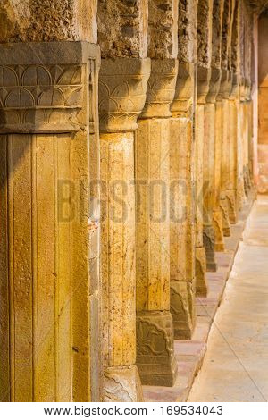 Pillars At Chand Baori
