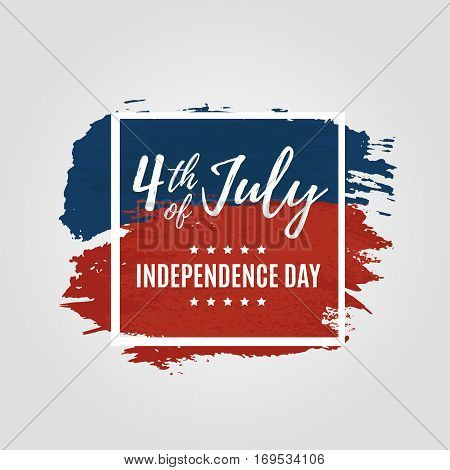 Fourth Of July Usa Independence Day Greeting Card. 4 July America Celebration Wallpaper. Independenc