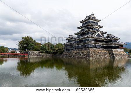 Matsumoto Castle in Matsumoto City