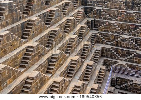 Steps At Chand Baori