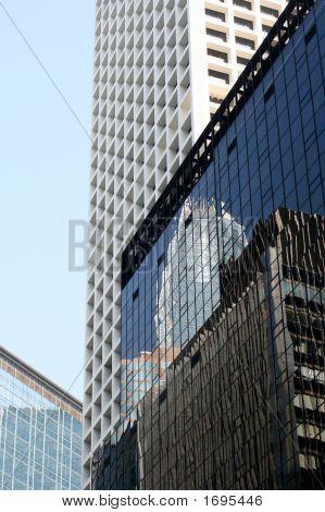 Skyscrapper'S Reflections