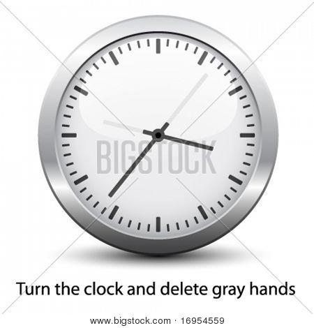 Векторные циферблата - легко изменить время