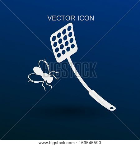 fly swatter icon vector illustration