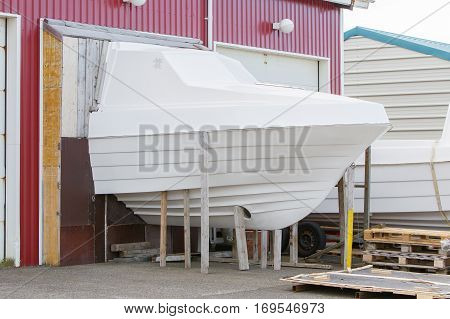 Production Process Of Making A Small Boat