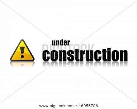 vector under construction template
