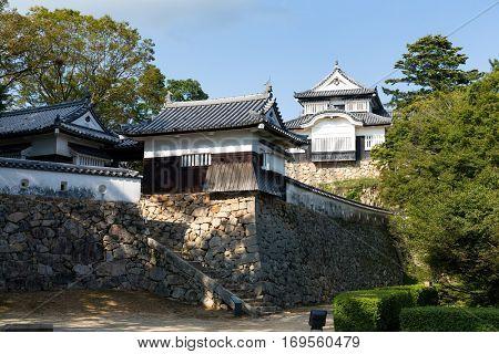 Bitchu Matsuyama Castle in Japan