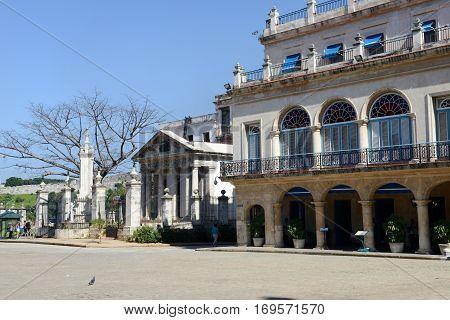 Colonial Architecture In Plaza De Armas