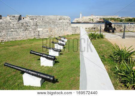 Castle San Salvador De La Punta At Havana