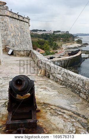 El Morro fortress at Havana on Cuba