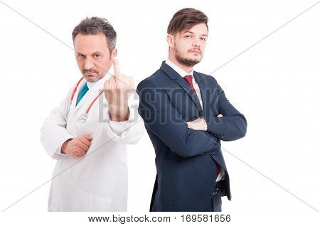 Male Doctor Insulting You