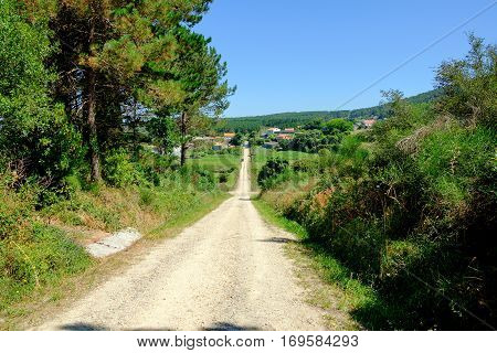 Images Of Camino De Santiago And Surroundings, The Epilogue Between Santiago And Finisterre.