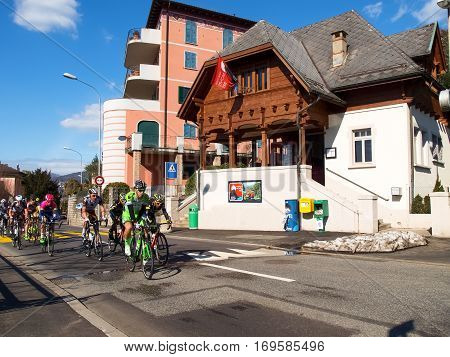 Cycling Race Grand Prix Of Lugano In 2015