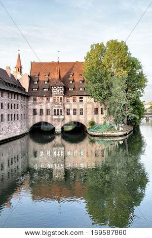 Hospital of the Holy Spirit in Nuremberg, Germany