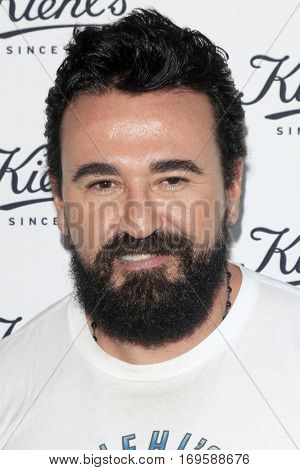 LOS ANGELES - SEP 22:  Chris Salgardo at the Kiehl's LifeRide for Ovarian Cancer Research at Kiehl's Store  on September 22, 2016 in Santa Monica, CA