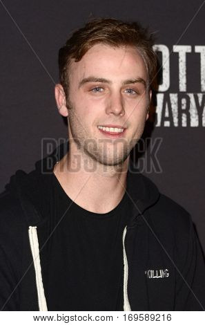 LOS ANGELES - SEP 30:  Sterling Beaumon at the 2016 Knott's Scary Farm at Knott's Berry Farm on September 30, 2016 in Buena Park, CA