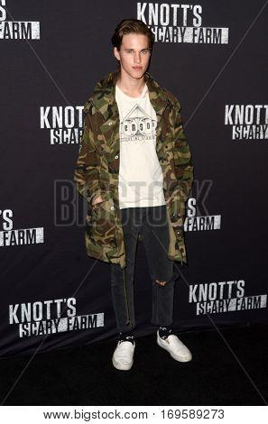 LOS ANGELES - SEP 30:  Ryan Beatty at the 2016 Knott's Scary Farm at Knott's Berry Farm on September 30, 2016 in Buena Park, CA