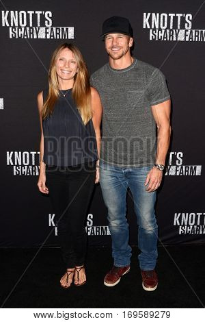 LOS ANGELES - SEP 30:  Guest, Rusty Joiner at the 2016 Knott's Scary Farm at Knott's Berry Farm on September 30, 2016 in Buena Park, CA