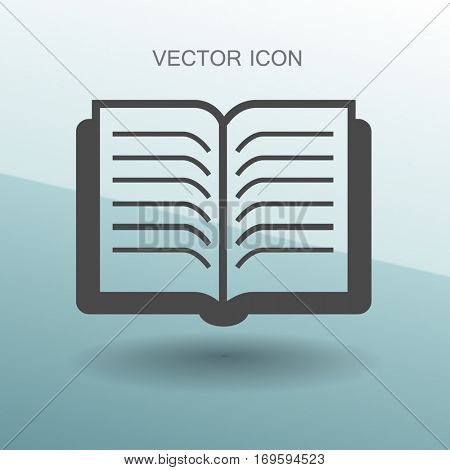 The little book vector illustration